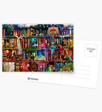 Launischer Fund - Schatzsuche Postkarten