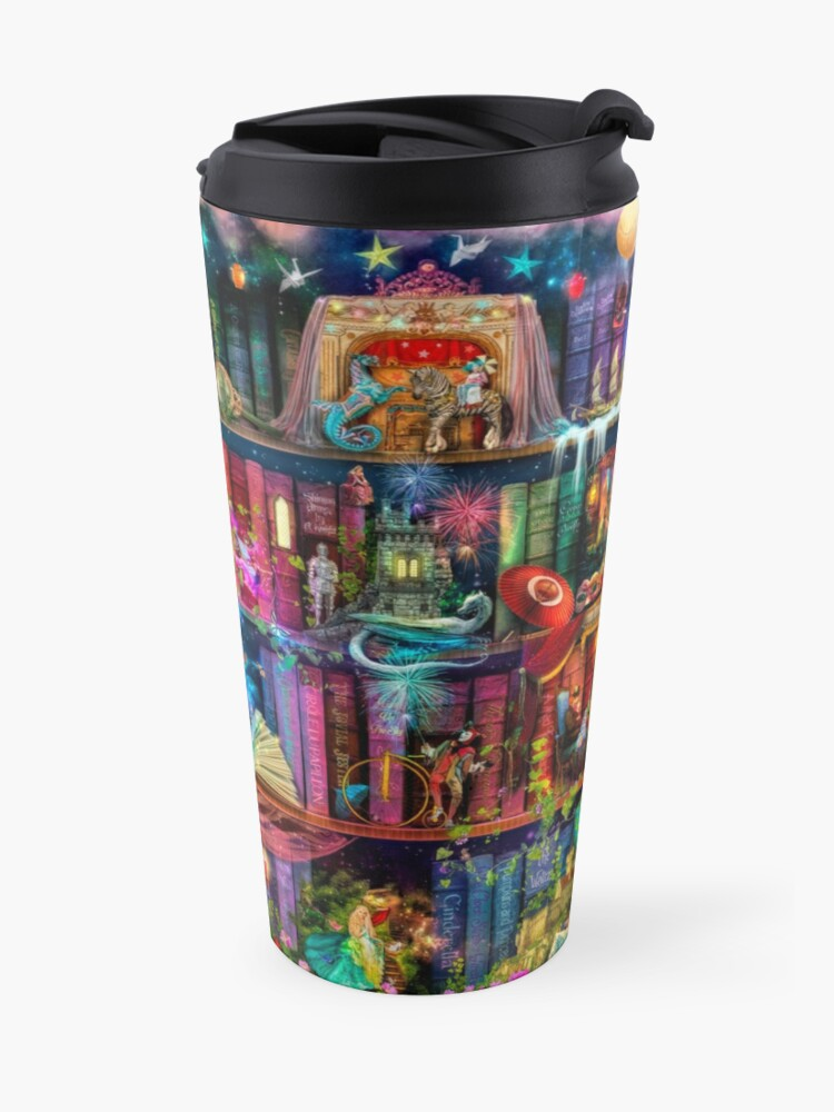 Alternate view of Whimsy Trove - Treasure Hunt Travel Mug