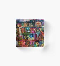 Whimsy Trove - Treasure Hunt Acrylic Block