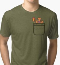 Is that a charmander in your pocket? Tri-blend T-Shirt