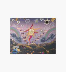A Mountain Sunset Starscape Art Board