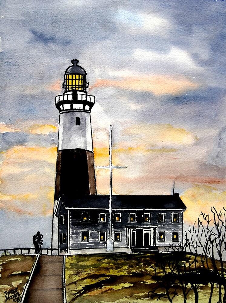 Montauk Point Lighthouse New York by derekmccrea