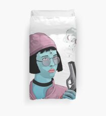 Young Natalie  Duvet Cover