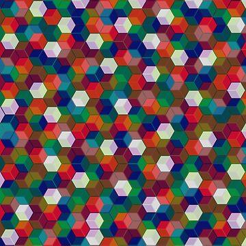 Color Cubes Pattern by TM490