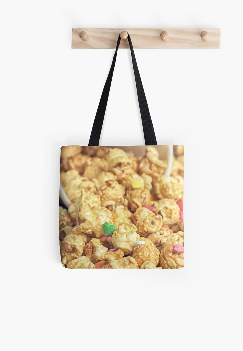 Popcorn on the table. by OllegNik
