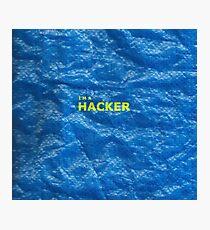 Hacker Photographic Print