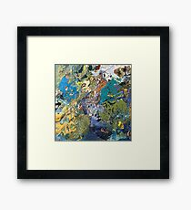 Abstract compilation no. 43 Framed Print