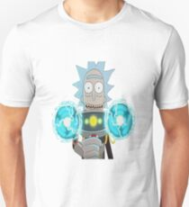 Mind Wipe Rick and Morty - Sticker T-Shirt