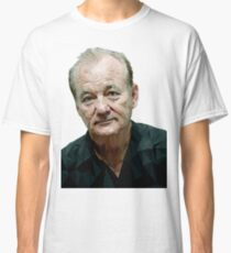Low Poly Bill Murray Classic T-Shirt