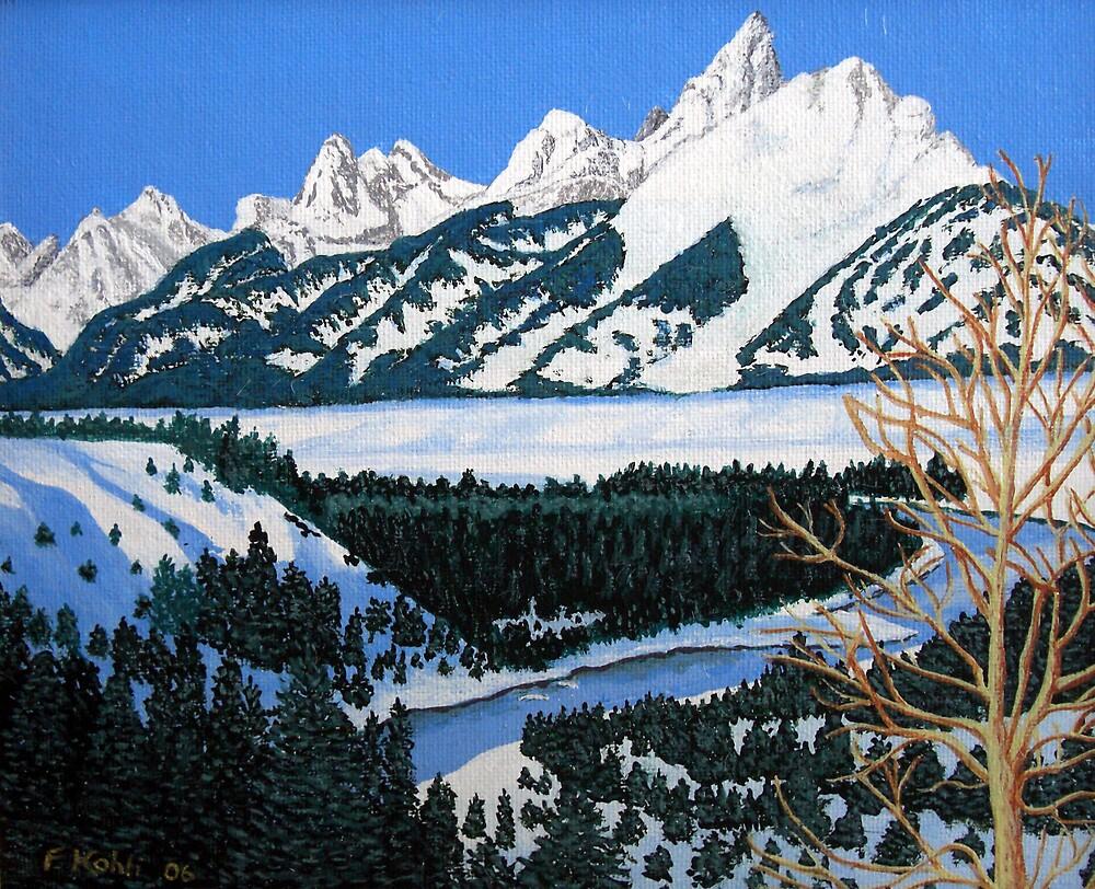 Grand Teton by fbkohli