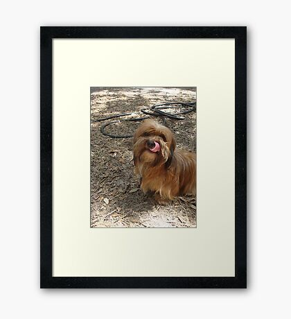 Her Name is Baby Framed Print