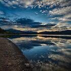 Sunrise Over Lake Dillon - Dillon, CO by Edith Reynolds