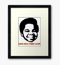 Gary Coleman Framed Print
