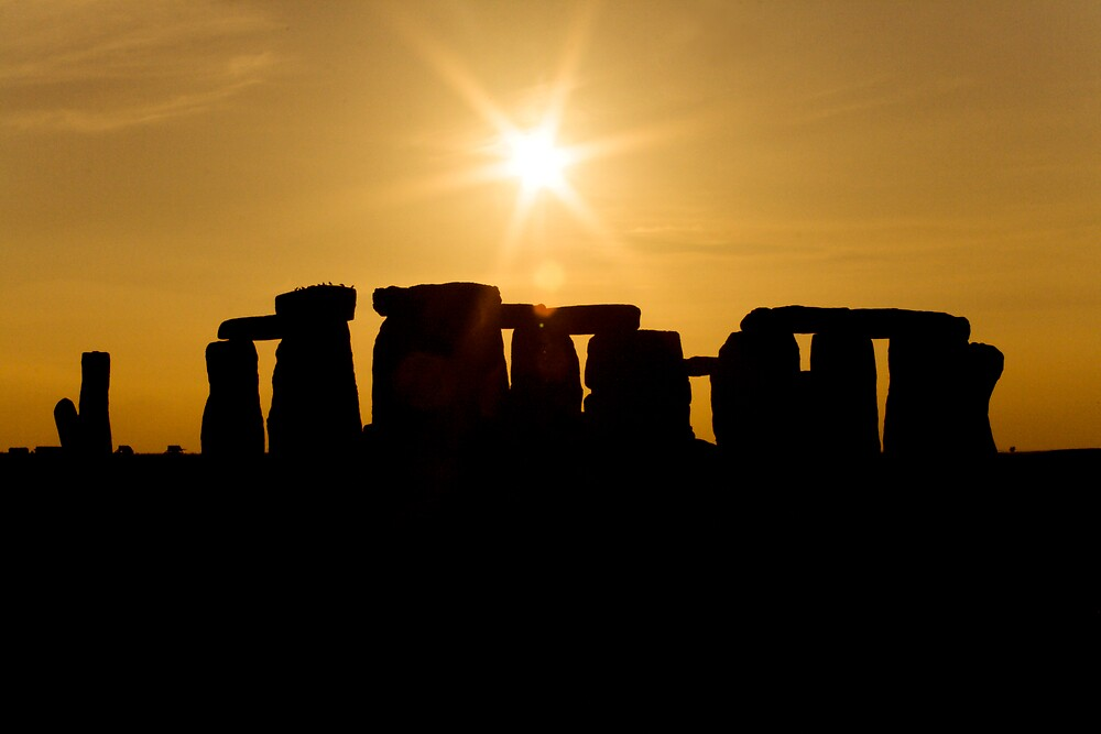 Stonehenge Sunset by Stuart Howard