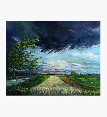 Thunder Clouds Photographic Print