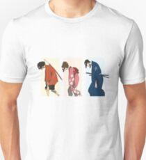 Samurai Down Unisex T-Shirt