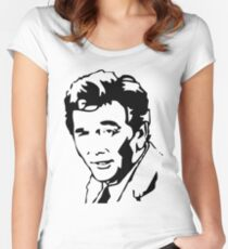 Peter Falk Columbo Women's Fitted Scoop T-Shirt