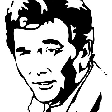 Peter Falk Columbo by Cinemadelic