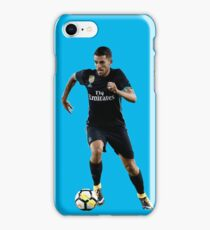 D. Ceballos with Ball iPhone Case/Skin