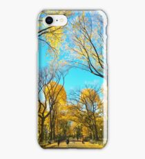 Yellow Leaves of Central Park iPhone Case/Skin