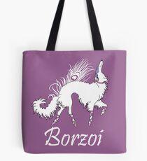 Ballet Borzoi  Tote Bag