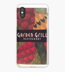Garden Grill iPhone Case/Skin