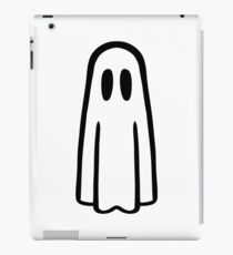Funny ghost face iPad Case/Skin
