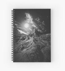 Moonlight madness Spiral Notebook