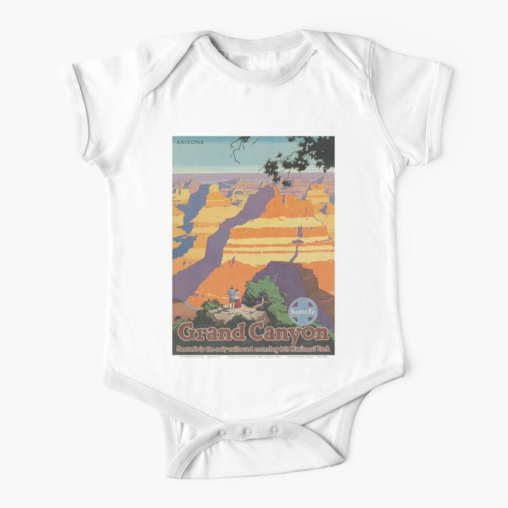 Weinleseplakat - Grand Canyon Baby Body