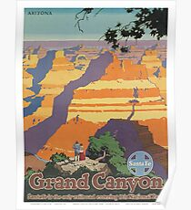 Vintage poster - Grand Canyon Poster