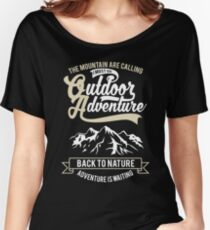 Outdoor Adventure Mountain Retro Vintage Women's Relaxed Fit T-Shirt