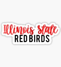 Illinois State Redbirds Sticker