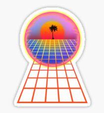 Vaporwave 001 Sticker