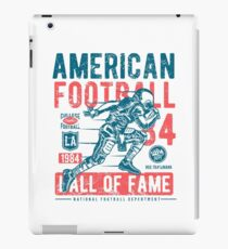 American Football Retro Vintage iPad Case/Skin