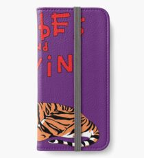 Hobbes and Calvin logo iPhone Wallet/Case/Skin