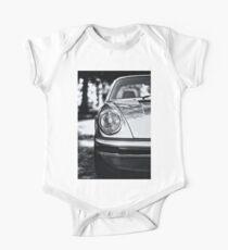 Porsche 911 Targa - half front view Short Sleeve Baby One-Piece