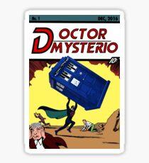 Doctor Mysterio Comics!  Sticker