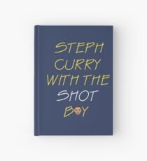 Curry drake shot Hardcover Journal