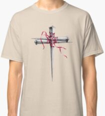 Cross Made of Nails Classic T-Shirt