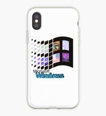 MICROSOFT WINDOWS iPhone Case