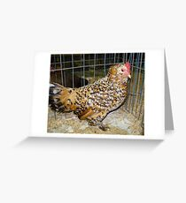 Speckled Greeting Card