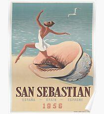Vintage poster - San Sebastian Poster