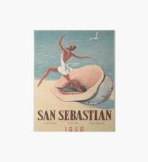 Vintage poster - San Sebastian Art Board