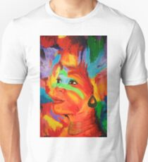 Red Smile - Beautiful Woman of Color T-Shirt
