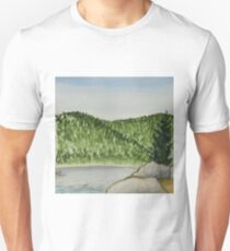 Cove - Watercolor on paper painting T-Shirt