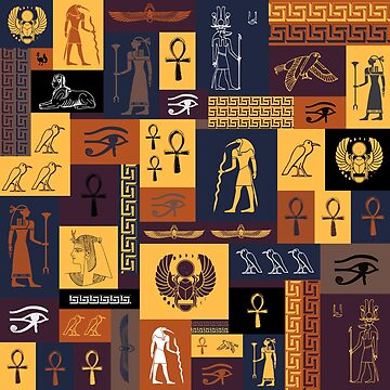 Egyptian Collage by NolaLeeKelsey