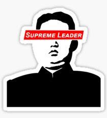 Supreme Leader Kim Jong Un  Sticker