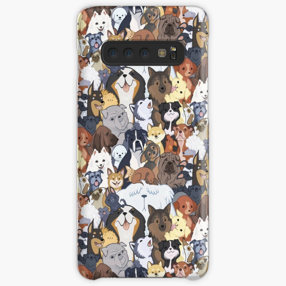 Pupper Party Case & Skin for Samsung Galaxy