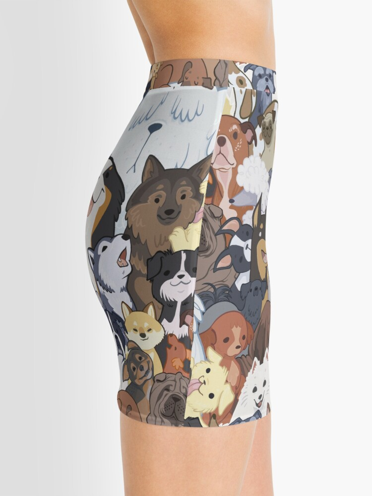 Alternate view of Pupper Party Mini Skirt