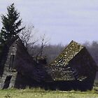 Sway Backed Barn by MaeBelle